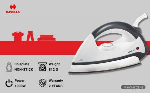Havells 1000-Watts Dry Iron