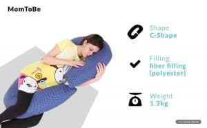 MomToBe Pregnancy Pillow