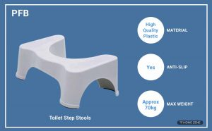 PFB Toilet step Stool
