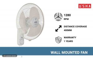 Usha Wall Mounted Fan
