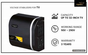V-Guard Voltage Stabilizer for TV