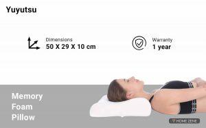 Yuyutsu (50 x 29 cm) Memory Foam Pillows