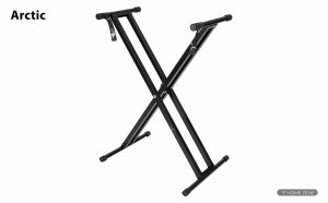 Arctic Adjustable Heavy Duty Double Tube Keyboard Stand
