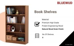 Bluewud Book Shelves