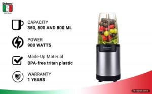 Balzano WBL-002-H 900-Watts Blender