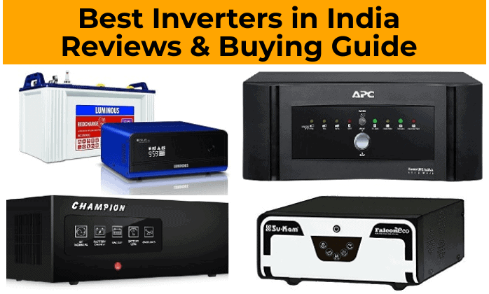 Best Inverters in India Reviews & Buying Guide