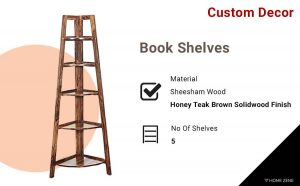 Custom Decor Wall Rack Book Shelves