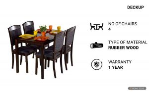 DeckUp Dining Table Sets