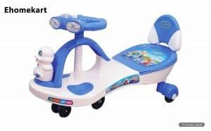 Ehomekart Plastic Twist and Swing Magic Ride on Car for Kids
