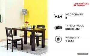 Furniture World Dining Table Sets
