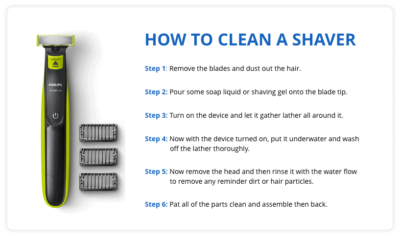 How to Clean a Shaver