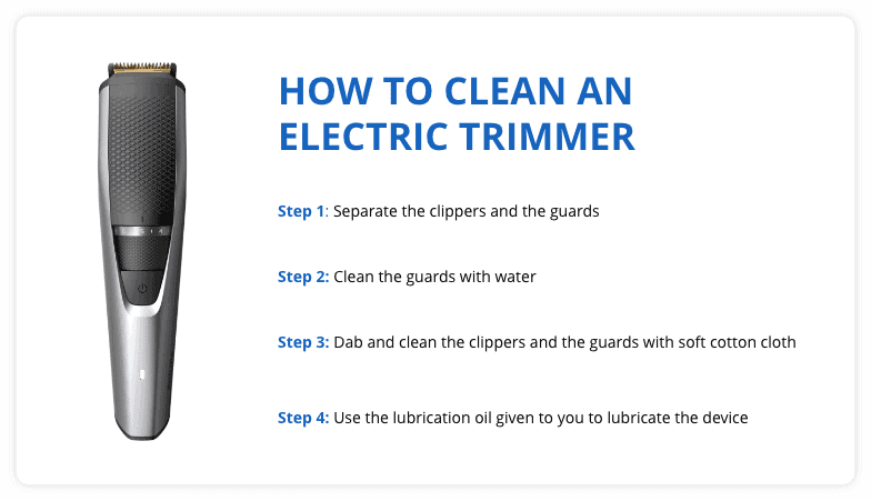 How to Clean Electric Trimmer