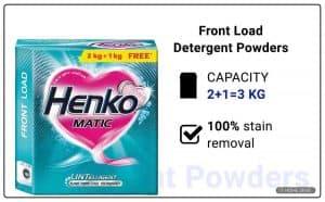 Henko Matic Front Load Detergent Powder