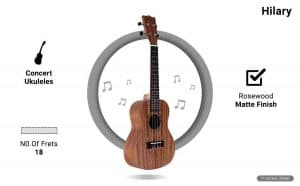 Hilary Concert Ukulele Kit