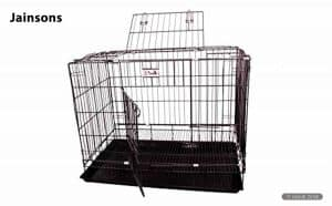 Jainsons Pet Products Black Cage