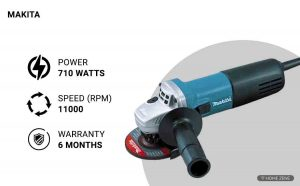Makita 9553NB 710-Watts Angle Grinder
