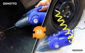 Oshotto Vacuum Cleaner cum Tyre Inflator