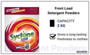 Syclone Matic Front Load Detergent Powder