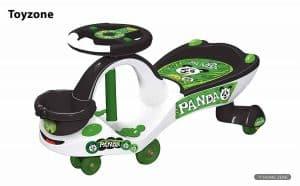 Toyzone Eco Panda Magic Ride on Car for Kids