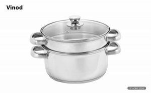 Vinod Cookware 2 Tier Steamer