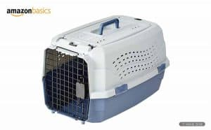 AmazonBasics Double Door Folding Metal Dog Cage