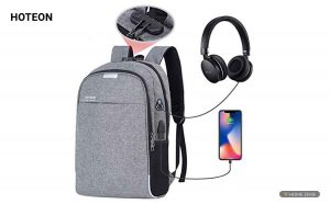 Hoteon Mobilife Business Laptop Water Resistant Anti-Theft Backpack