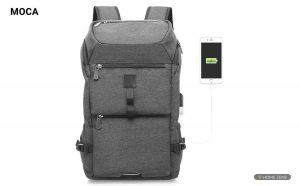 MOCA Kaka Series Unisex Anti-Theft Travel Business Laptop Backpack
