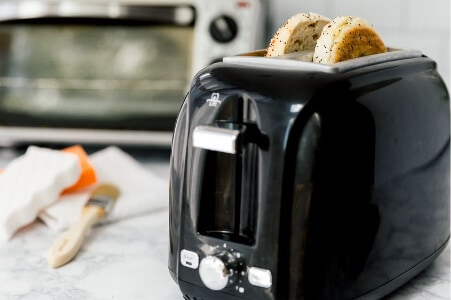 Clear out the crumbs from your toaster