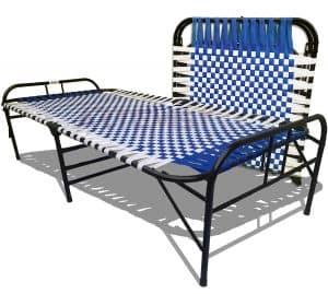 ARTEMIST Synthetic Portable Single Folding Bed