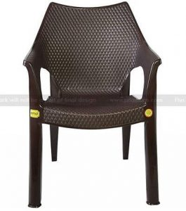 Anmol Plastic Chairs (Arm Chairs) Set of 2