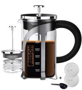 Bison International Marine French Press BPA Free Coffee Espresso