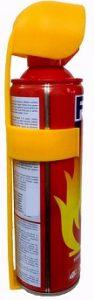 HappeStop Aluminium 500ml Fire Extinguisher Spray
