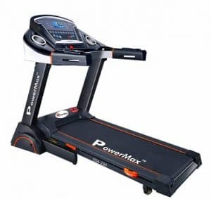 Powermax Fitness Tda-230 2Hp (4Hp Peak) Motorized Treadmill