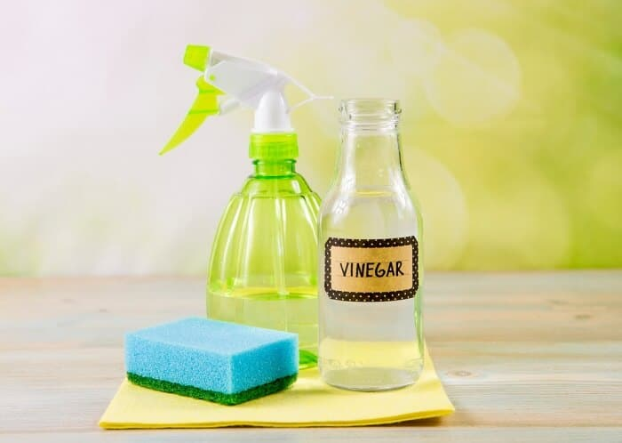 Vinegar with water