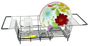 Better Houseware Over Sink Dish Drainer