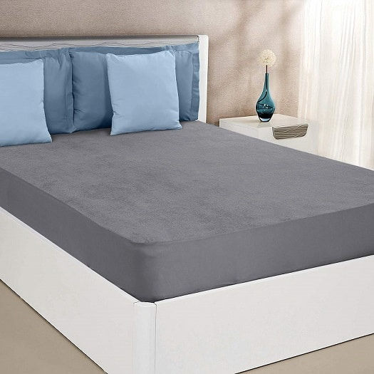 Amazon Solimo Water Resistant Cotton Mattress Protector