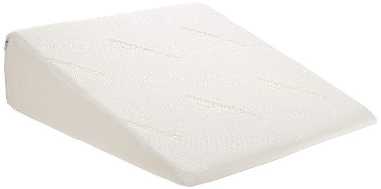 AmazonBasics Memory Foam Bed Wedge Pillow