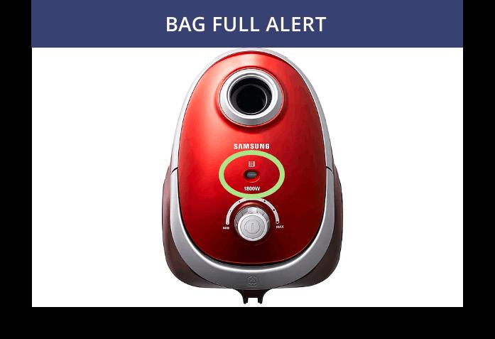 Bag Full Alert