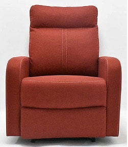 Danube Home Daly Single Fabric Recliner