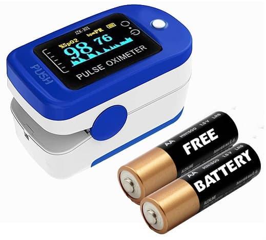 Dr Vaku Swadesi Finger Tip Pulse Oximeter