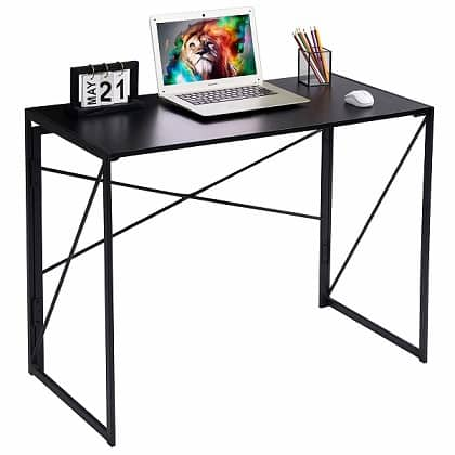 Industrial Style Folding Laptop Table