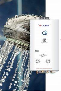 Lazer Oxy Gas Water Heater