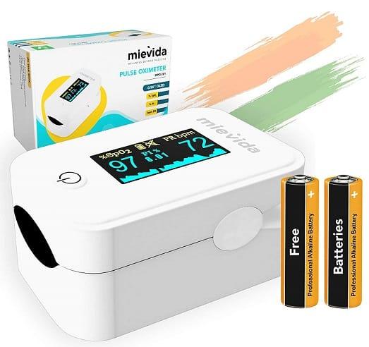Mievida Fingertip Pulse Oximeter