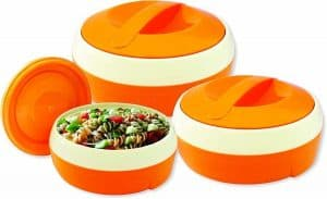 Princeware Solar Plastic Casserole Set