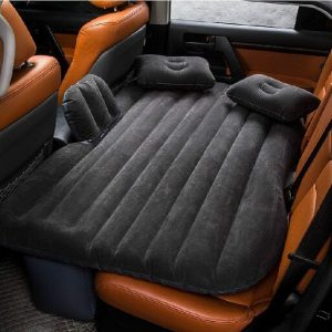 Qualimate CARBED Car Inflatable Mattress Air Bed