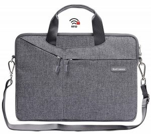 Red Lemon Messenger Laptop Bag