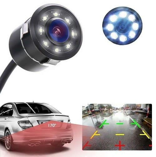 SPAIKO LED Parking HD Camera