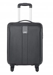 Safari Thorium Sharp Antiscratch 55 Cms Polycarbonate Hard Suitcase
