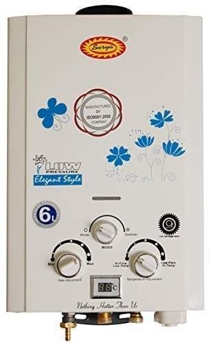 Surya Digital Instant Gas Geyser