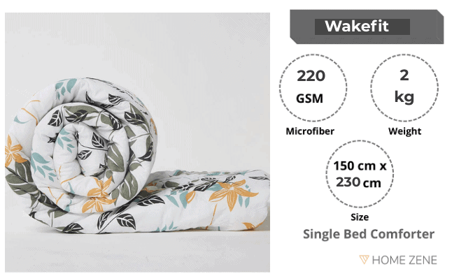 Wakefit Siliconised comforter